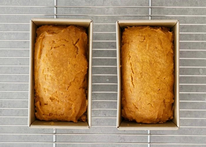 These mini loaves of pumpkin bread come out perfectly every time in the Instant Pot.