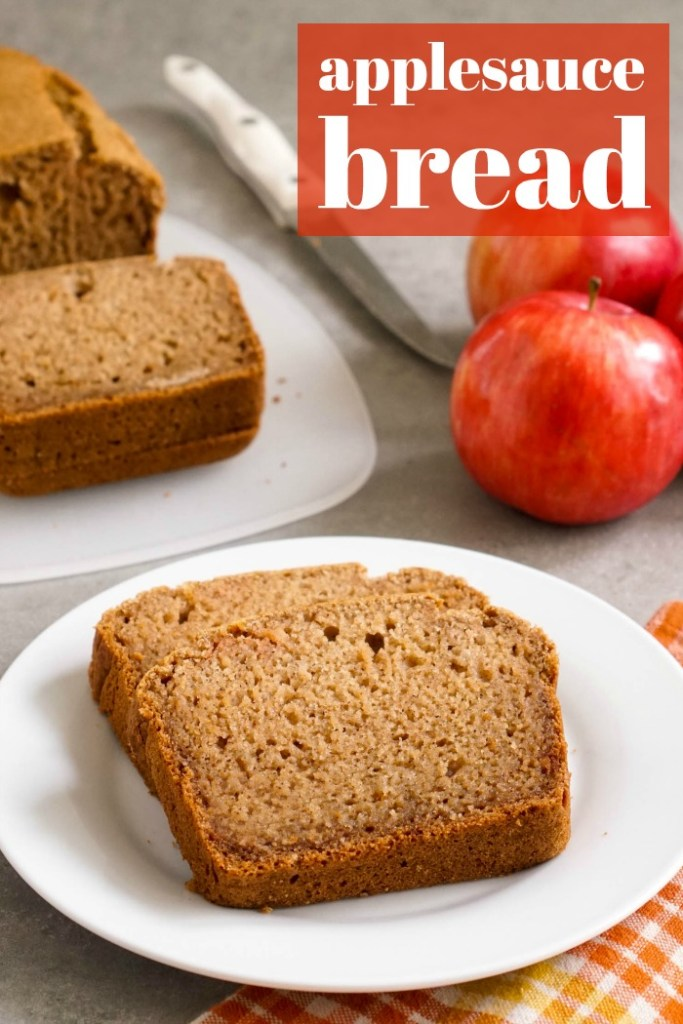 Applesauce bread, a delicious gluten-free snack recipe