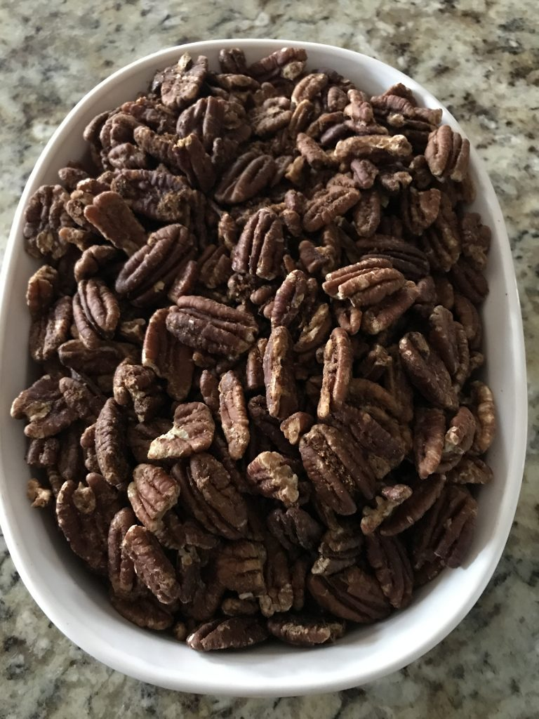 IMG_5494-e1545047591429-768x1024 Maple Cinnamon Roasted Pecans