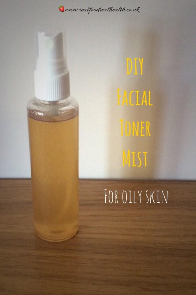 DIY Facial Toner Mist for Oily Skin