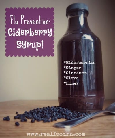 DIY Elderberry Syrup Recipe | Real Food RN