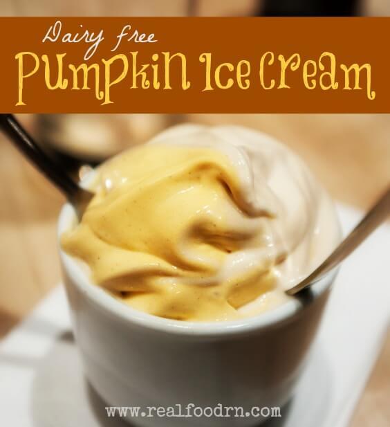 Pumpkin Ice Cream | Real Food RN