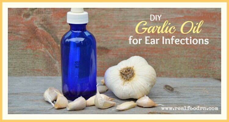 how to make garlic oil for ear infections