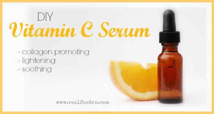 Diy Vitamin C Serum For Glowing Skin Real Food Rn