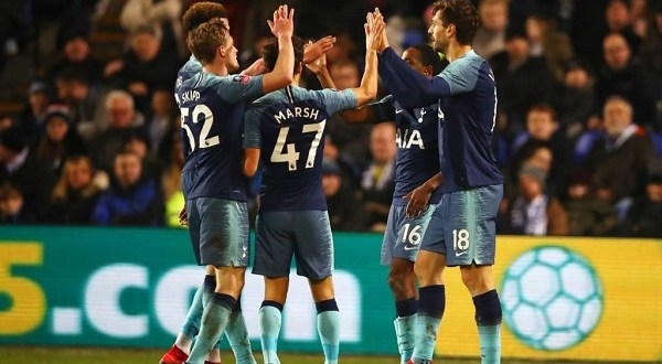Tottenham Hit Tranmere For Seven