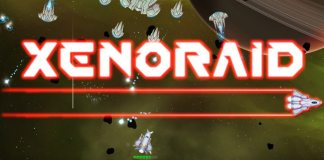 xenoraid, shooter, bullet hell, indie