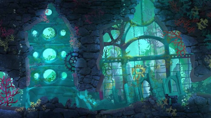 Another interesting locale under the sea on Merryn's quest.