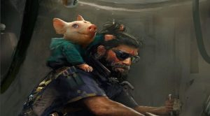 Art released by Beyond Good and Evil's creative director Micheal Ancel