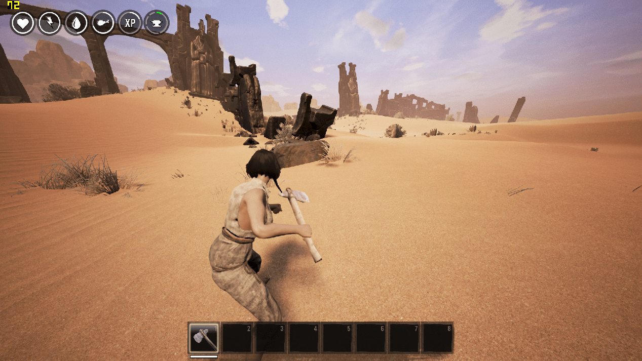 Conan Exiles Has Great Potential On Shifting Sands Real