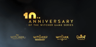 10th anniversary of the Witcher