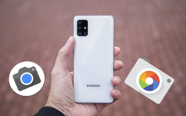The newest Google Camera has arrived for Samsung Galaxy phones