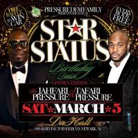 FOOTA CHIN PRESENTS STAR STATUS BIRTHDAY BASH PROMO MIX MARCH 5TH 2016