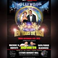 HOLLYWOOD NEW YEARS EVE BASH AT STARS BANQUET HALL DECEMBER 2015