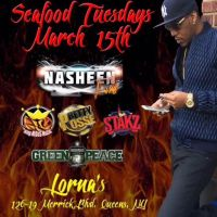 KING MIDAS LS NASHEEN FIRE AT SEA FOOD TUESDAYS MARCH 2016