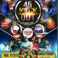 SLINGERZ ENTERTAINMENT PRESENTS 45 KICK OUT NOVEMBER 2016