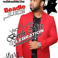LOVELINE MUZIK LIVE AT BEADLE JUICE YEAR TO YEAR BIRTH NITE CELEBRATION NOV 21st 2018