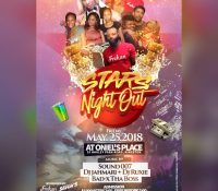 STARS NIGHT OUT AT ONIELS PLACE 25TH MAY 2018