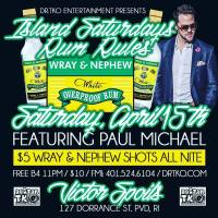 PAUL MICHAEL LIVE AT ISLAND SATURDAY'S ON APRIL 15TH 2017
