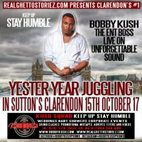 BOBBY KUSH AND UNFORGETTABLE SOUND IN SUTTONS CLARENDON 15TH OCTOBER 2017