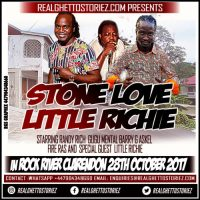 STONE LOVE AND LITTLE RICHIE AT SHELICE MEMORIAL-ROCK RIVER CLARENDON 28TH OCTOBER 2017