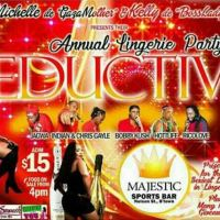 BOBBY KUSH PRESENTS SEDUCTIVE THE ANNUAL LINGERIE PARTY 5TH MAY 2018 PROMO