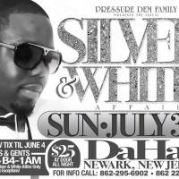 SILVER & WHITE PRESSURE DEM PROMO MIX BY SUPA PUDGIE FROM REBEL SQUAD
