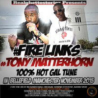 TONY MATTERHORN AND FIRE LINKS IN BELLEFIELD NOVEMBER 2015