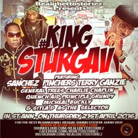 KING STURGAV IN ST ANN APRIL 2016
