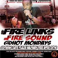 FIRE LINKS AT HOT MONDAYS APRIL 2016