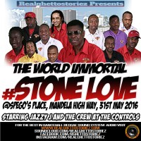 STONE LOVE AT BORDERLINE TUESDAYS SPEGO'S PLACE 31ST MAY 2016
