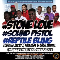 STONE LOVE LS SOUND PISTOL LS REPTILE BLING IN MANCHESTER JULY 2016