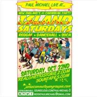 PAUL MICHAEL AT ISLAND SATURDAY'S 22ND OCTOBER 2016