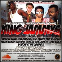 RETRO SUNDAY'S PT 6 – KING JAMMYS AT LOVESHACK LAWN  ALLMAN TOWN.AUGUST 1986