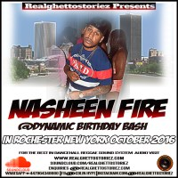 NASHEEN FIRE AT DJ DYNAMIC BIRTHDAY BASH OCTOBER 2016