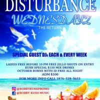 MEGA FORCE DIGITAL AT DISTURBANCE WEDNESDAYZ 27 OCT 2016