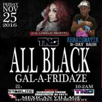 KHARISMATIK AT ALL BLACK GAL A FRIDAZE NOVEMBER 25 2016