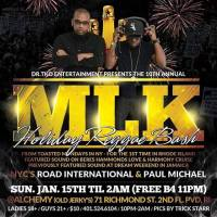 MLK HOLIDAY REGGAE BASH FT  ROAD INTL AND PAUL MICHAEL JAN 15TH 2017