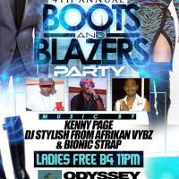 4TH ANNUAL BOOTS AND BLAZERS PARTY FT AFRIKAN VYBZ,KENNY PAGE AND BIONIC STRAP JAN 2017