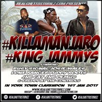 KILLAMANJARO LS KING JAMMYS IN YORK TOWN CLARENDON JAN 1ST 2017
