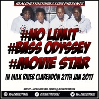 MOVIE STAR LS NO LIMIT LS BASS ODYSSEY IN MILK RIVER CLARENDON 27TH JAN 2017