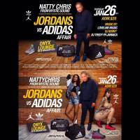 LOVELINE MUZIK  AT NATTY CHRIS'S JORDANS VS ADIDAS AFFAIR JAN 26 2017