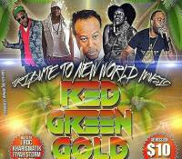KHARISMATIK  SOUND AT RED GREEN & GOLD FEBRUARY 25 2017 AT CALIFORNIA BREW HAUS