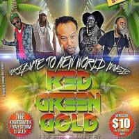 "KHARISMATIK  SOUND AT ""RED GREEN & GOLD"" FEBRUARY 25 2017 AT CALIFORNIA BREW HAUS"