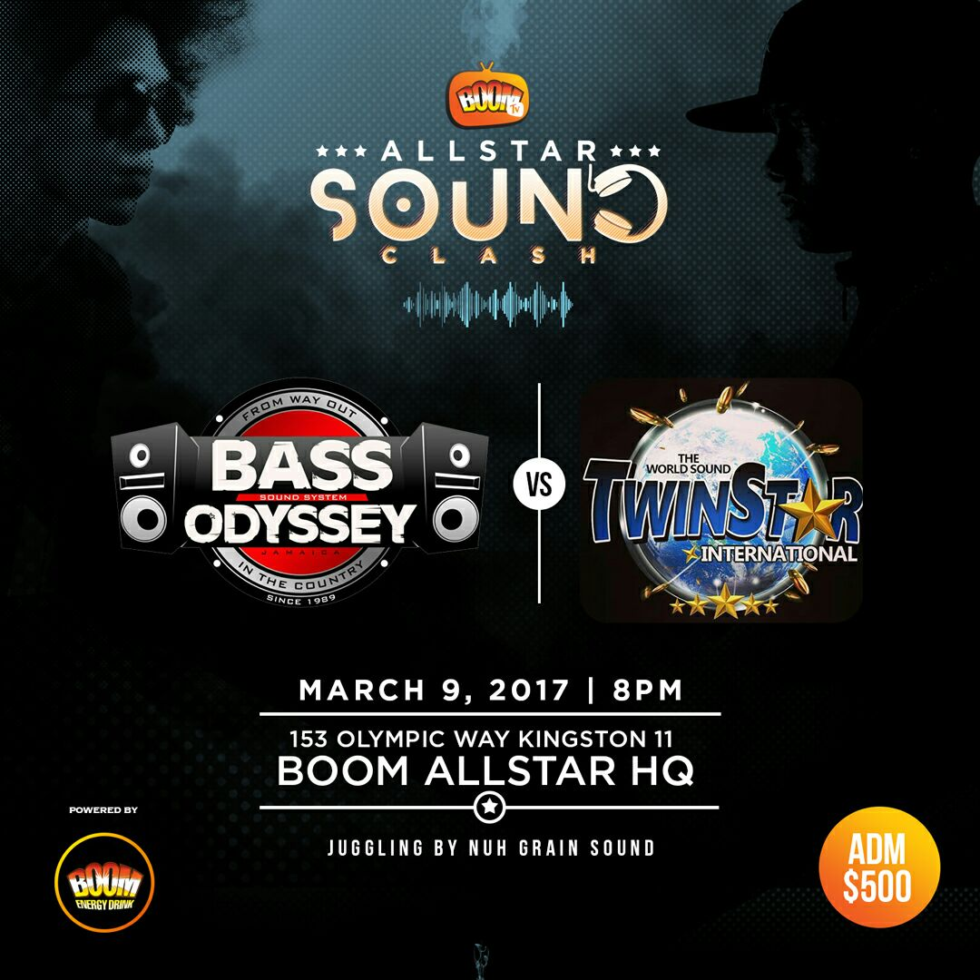 BASS ODYSSEY VS TWIN STAR AT ALL STAR BOOM CLASH 9TH MARCH 2017