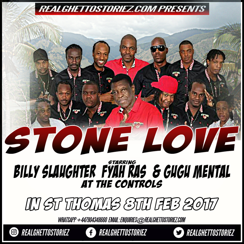 STONE LOVE IN ST THOMAS 8TH FEB 2017