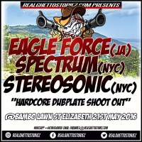EAGLE FORCE VS SPECTRUM VS STEREO SONIC AT BAMBOO LAWN, ST ELIZABETH MAY 2016