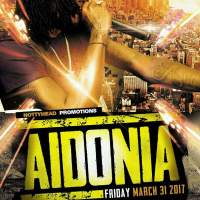 AIDONIA LIVE AT TRINITY EVENTS IN JACKSONVILLE FLORIDA 31ST MARCH 2017