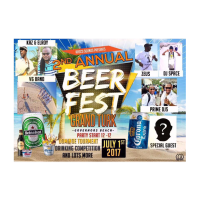 THE 2ND ANNUAL BEER FEST JULY 1ST FEATURING DJ SPACE AND DJ POP