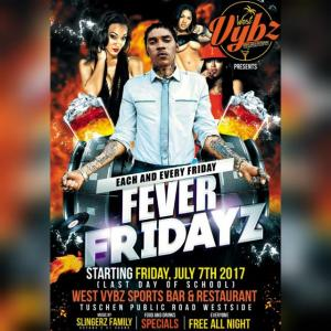 SLINGERZ FAMILY AT FEVER FRIDAYZ EACH AND EVERY FRIDAY