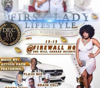 FIRST LADY LIFESTYLE ALL WHITE EDITION